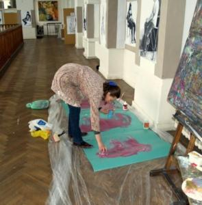 Galeria obrazów - warsztaty 2009r